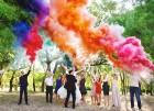 Цветной дым для свадьбы в Казани